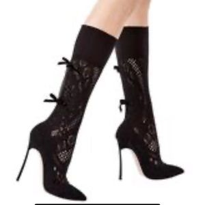 NEW CASADEI Polacco Marylin lace boots